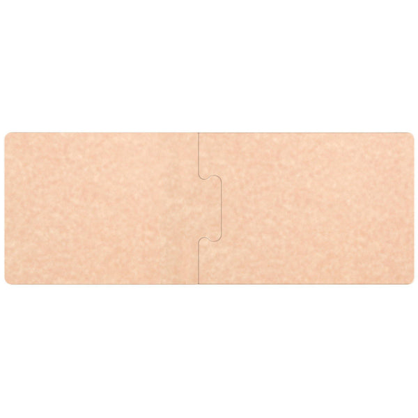 "PuzzleBoard 27"" x 10"" x 3/8"" Natural Richlite Wood Fiber Cutting Board - 2/Set"