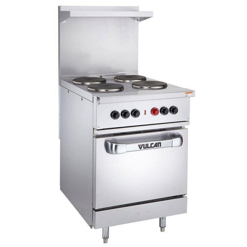 "24"" 4 Sealed Element Electric Range - Richard's Supply Inc"
