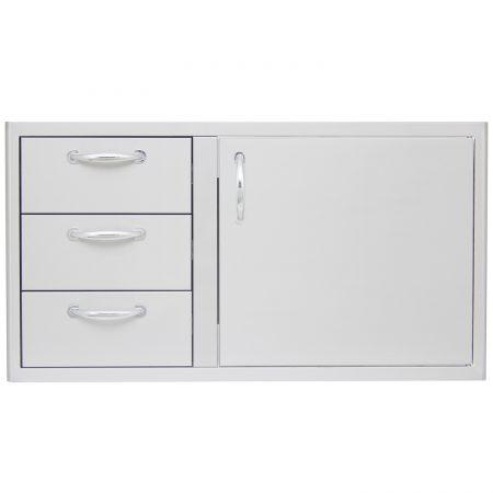 Blaze 39 in Access Door and Triple Drawer Combo - Richard's Supply Inc