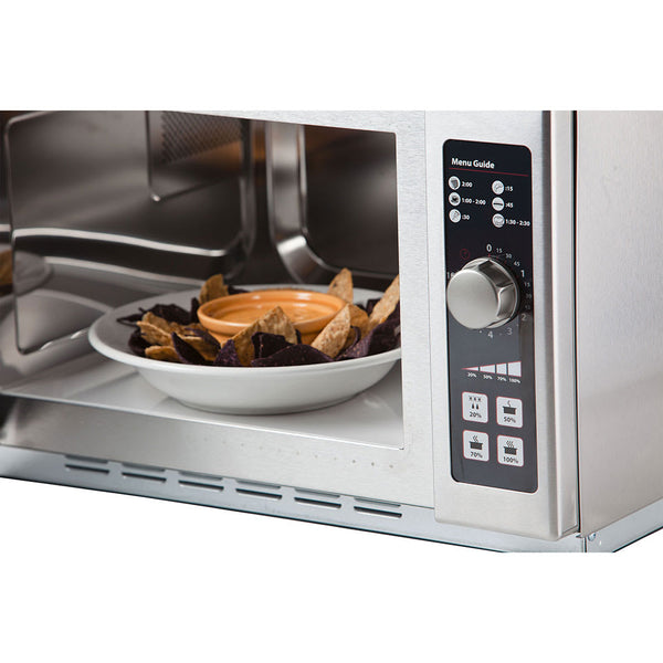 Amana 1000w Commercial Microwave w/ Dial Control, 120v
