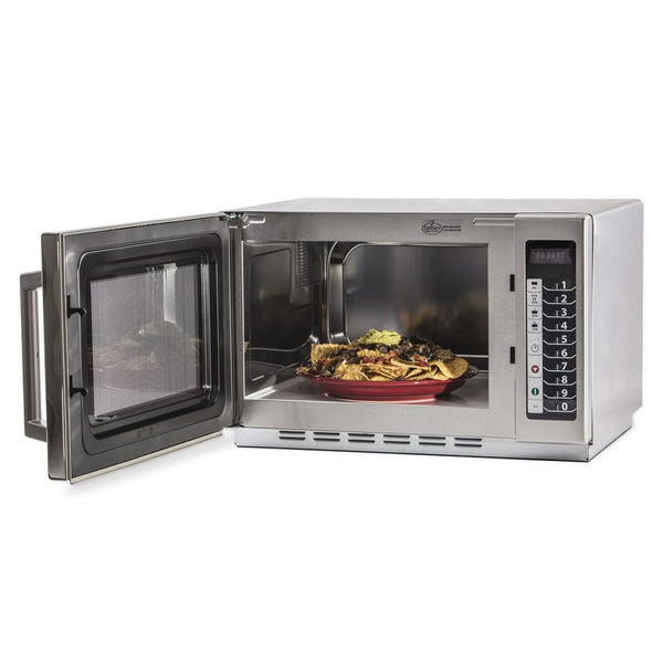 Amana 1000w Commercial Microwave w/ Touch Pad, 120v