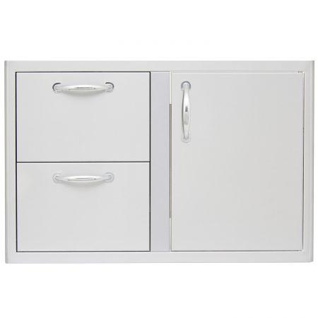 Blaze 32 in Access Door & Double Drawer Combo - Richard's Supply Inc