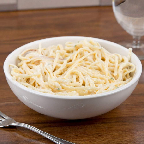 25 oz. Ivory Rolled Edge China Pasta Bowl - Richard's Supply Inc