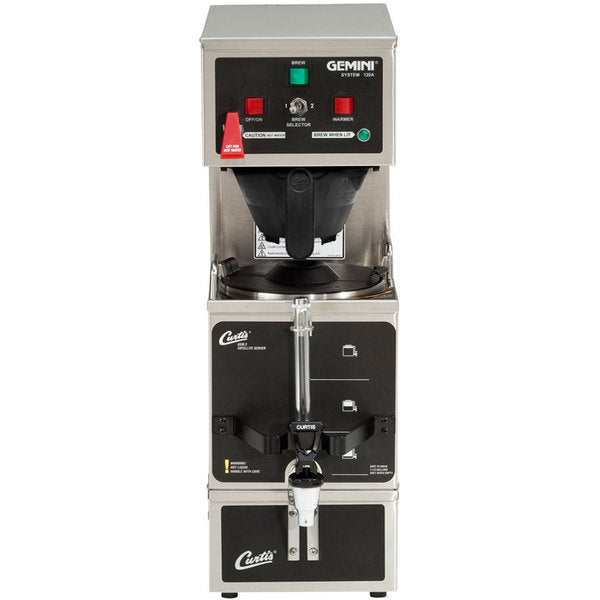 Gemini Stainless Steel Analog Satellite Coffee Brewer