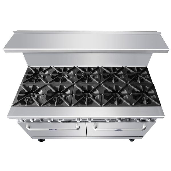 CookRite 10 Burner Gas Range 60""