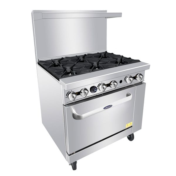 "Cook Rite 36"" Natural Gas range 6 Burner"
