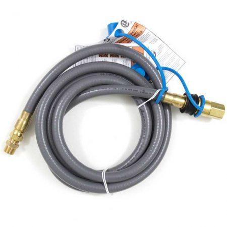 1/2 Inch Natural Gas Hose with Quick Disconnect - Richard's Supply Inc