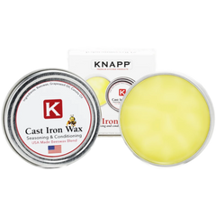 Knapp Made Cast Iron Wax For Perfect Seasoning