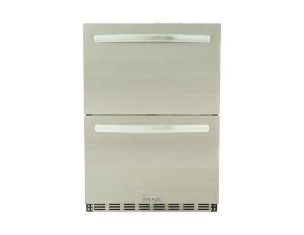 BLAZE DOUBLE DRAWER 5.1 CU. FT. REFRIGERATOR - Richard's Supply Inc