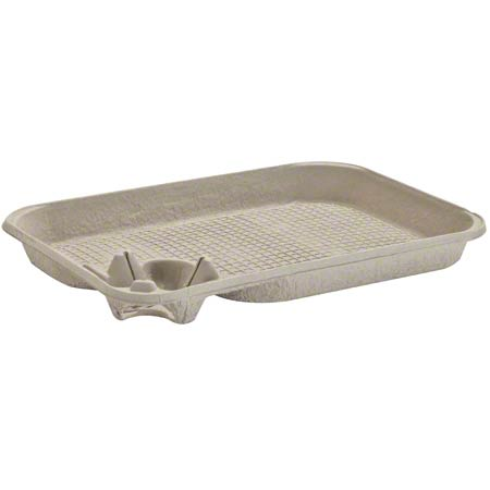 Chinet StrongHolder® Molded Fiber Carrier w/Food Tray - 1-Cup (Pack of 50)