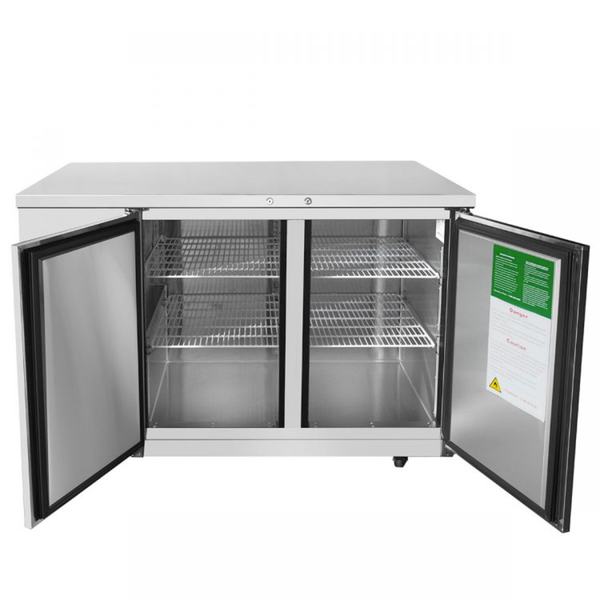 Atosa 59'' Back Bar Cooler - S/S