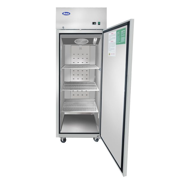 Atosa Upright Refrigerator – Top Mount Reach-In One Door