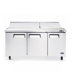 Atosa 72'' Mega top Sandwich Prep. Table with 30 S/S Pans