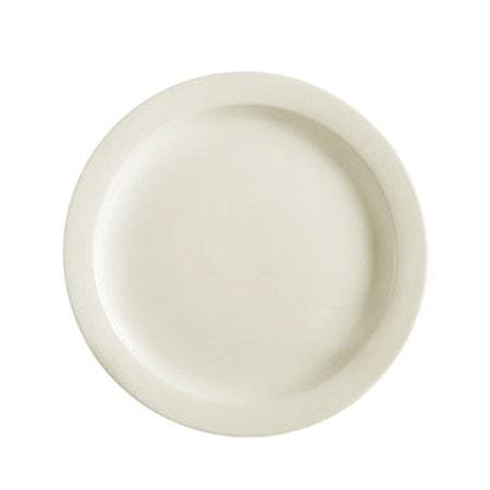 "10.5"" Ceramic Narrow Rim Dinner Plate - Richard's Supply Inc"