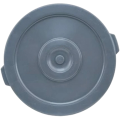 Winco Gray 44 Gallon Trash Can Lid