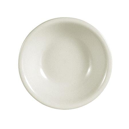 American White Rolled Edge Fruit Dish - Richard's Supply Inc