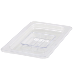 Winco Poly-Ware 1/4 Size Solid Polycarbonate Food Pan Cover