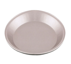 "Pie Pan, 9"" top x 7 1/4"" bottom x 1 1/4"" deep"