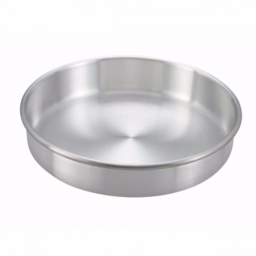 "10"" x 3"" Round Aluminum Cake Pan - Richard's Supply Inc"