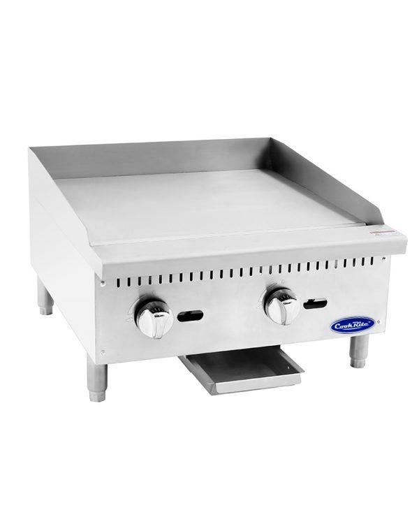 "Atosa Heavy Duty 24"" Manual Griddle - Richard's Supply Inc"