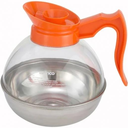 64 oz Polycarbonate Decaf Coffee Decanter