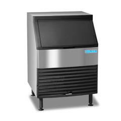 Undercounter Ice Kube Machine with Bin 168 lb/24 hours