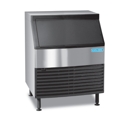 Undercounter Ice Kube Machine with Bin 256 lb/24 hours