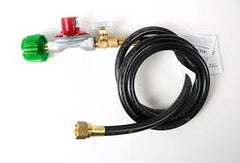 hose and regulator 0-40 lb pressure