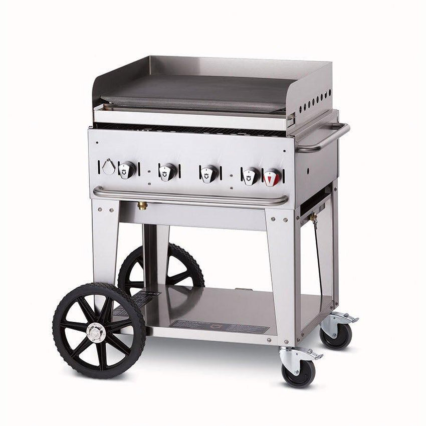"30"" Mobile Gas Commercial Outdoor Griddle - Richard's Supply Inc"