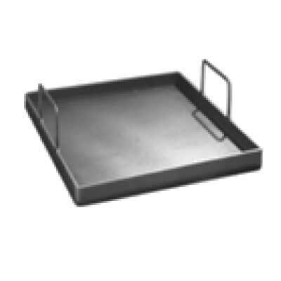 "Removable Griddle Plate - 12""L x 20 1/2""W x 3/8"" Thick, Steel - Richard's Supply Inc"