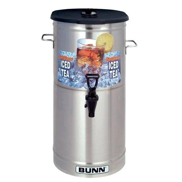 4 Gallon Iced Tea Dispenser with Brew-Through Lid