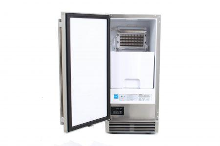 BLAZE 50 LB. 15 INCH OUTDOOR ICE MAKER WITH GRAVITY DRAIN - Richard's Supply Inc