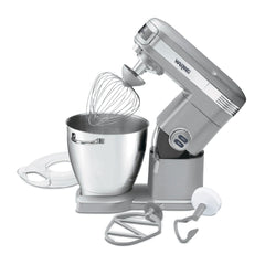 Waring Stand Mixer w/ Wire Whisk, Mixing Paddle & Dough Hook, 7 qt.
