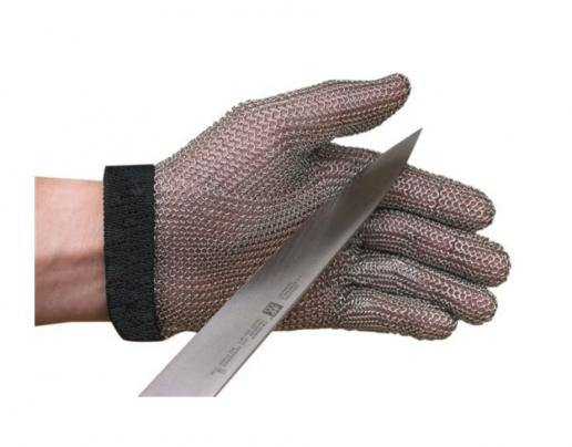 Stainless Steel Mesh Cut-Resistant Glove - Large