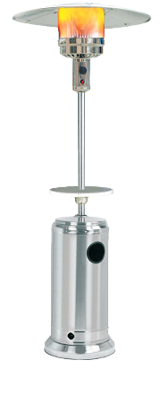 Umbrella Patio Heater with Stainless Steel Finish