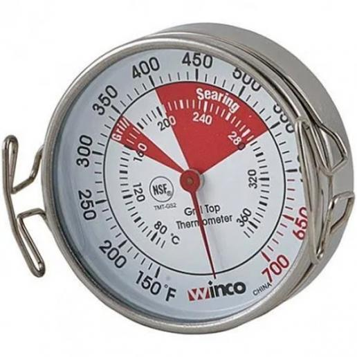 "2"" Diameter Grill Face Thermometer"