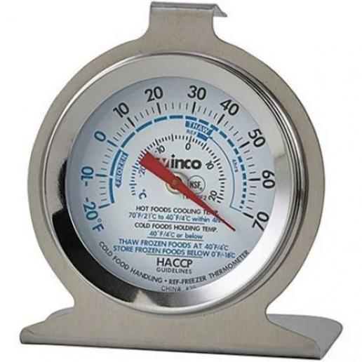 "2"" Diameter Refrigerator/Freezer Thermometer - Richard's Supply Inc"
