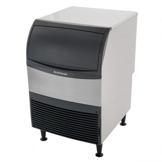 "Scotsman Undercounter 24"" Wide Flake Style Air-Cooled Ice Machine With Bin"