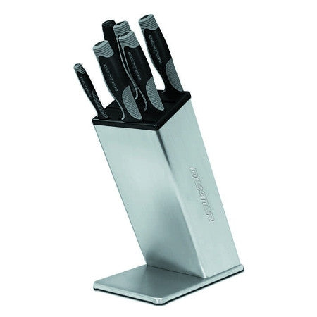 VS6 7 Piece Knife Set w/ Stainless Block