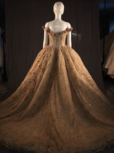 Load image into Gallery viewer, Champagne Ballgown Princess