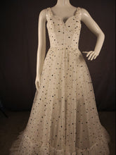 Load image into Gallery viewer, Polka, A-Line Dress with thin band