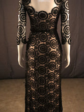 Load image into Gallery viewer, Ivory, Nude & Black with cutwork lace & 3 quarter sleeve