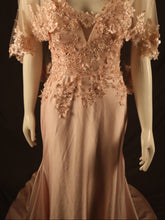 Load image into Gallery viewer, Baby Pink Fitted Evening Gown