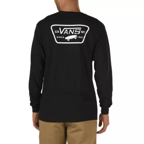 Vans Full Patch Long Sleeve T Shirt