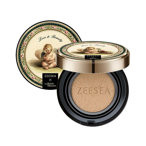 ZEESEA X the British Museum Angel Cupid Air Cushion Moisturizing BB Cream Base Foundation Whitening Face Cream Concealer Primer