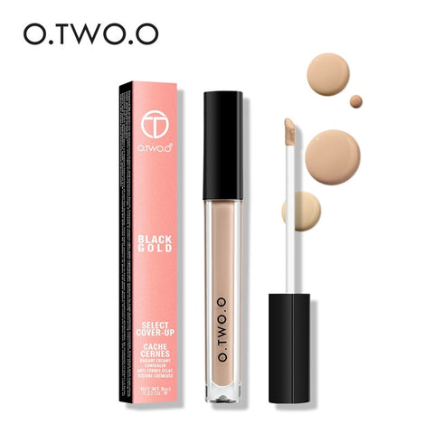 O.TW O.O-Face Contour Makeup, Liquid Concealer, Full Coverage