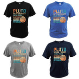 Pluto Never Forget T-shirt 100% cotton