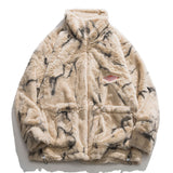 LINDSEY SEADER Men Fleece Faux Fur Thin Parkas