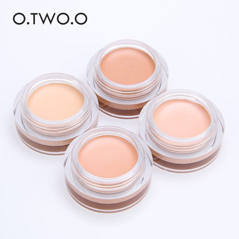 O.TW O.O-Eyeshadow in 4 Colors, Long-lasting Eye Base Cream Concealer, Waterproof