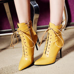 MLJUESE Leather boots